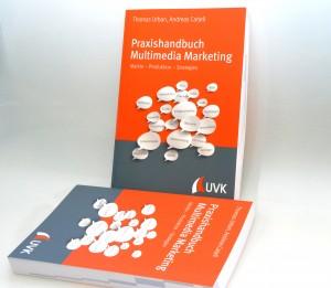 Das Praxishandbuch bietet auf 362 Seiten geballtes Multimedia-Marketing-Wissen.